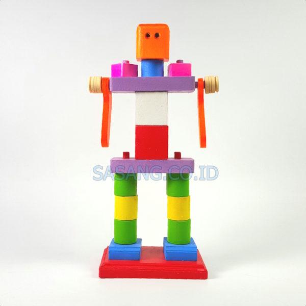 Jual Alat Permainan Edukatif Balok Robot Murah Grosir Di Toko Alat Peraga Pendidikan Sasang.Co.Id