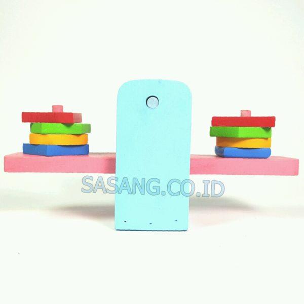 Timbangan Anak Geometri Murah Toko Mainan Alat Peraga Edukatif Grosir Sasang.CO.ID
