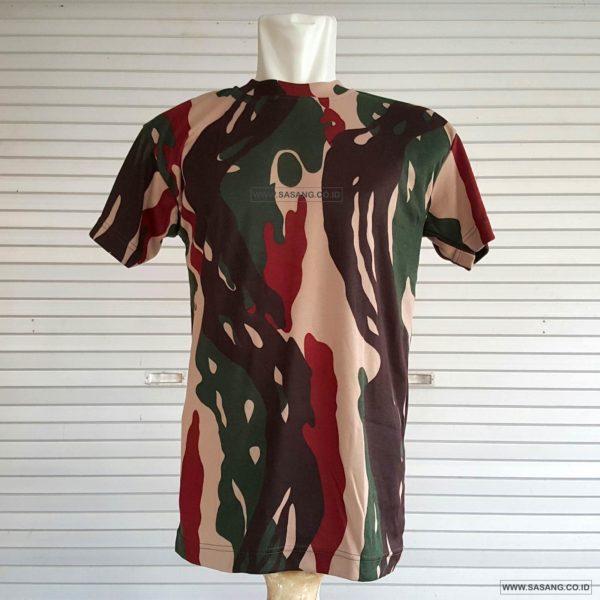 Jual Kaos Kopassus TNI Angkatan Darat Murah Grosir Sasang.CO.ID