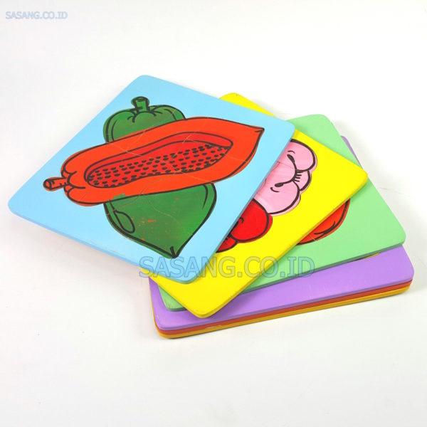 Jual Mainan Anak Edukasi Puzzle Set Buah Kecil Isi 8 Untuk Alat Peraga Edukatif Murah Grosir Sasang.Co.Id