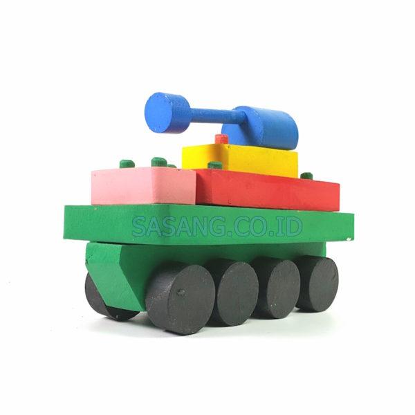 Permainan Kayu Balok Tank Murah Di Toko Grosir Alat Peraga Edukatif Dan Pendidikan Sasang.Co.Id