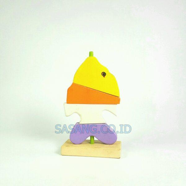 Mainan Menara Ikan Alat Peraga Edukatif Anak Murah Grosir Sasang.Co.Id